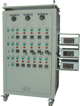 该电阻负载箱可定时转换测试档位,定时启动工作,定时关机停止工作.
